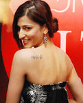 Shruti Haasan with her Tato at RITZ Magazine Women of the Year Award event