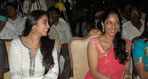 Charmme with  Vikram Krishna's wife Shriya Reddy at Salute (Tamil Sathyam) release