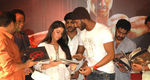 Vishal with Charmme at Salute (Tamil Sathyam) release