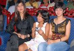 Sruthi Hassan and Akshara Hassan with Gowthami's daughter Subbulakshmi at Sunfeast Music Awards 2008