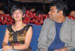 Akshara Haasan with A. R. Rahman at Sunfeast Music Awards 2008