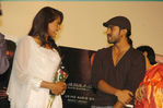 Sameera Reddy with Ram Charan at Surya S/O Krishnan Movie Audio Launch (Telugu Vaaranam Aayiram)