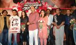 Surya with Gautham Vasudeva Menon, Meena, satya raj , Nazar, Harris Jayaraj at Vaaranam Aayiram Audio launch