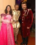 Trisha Krishnan, Ajith Kumar, Shalini Ajith at designer Sidney Sladen birthday bash (8)