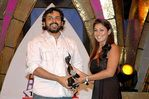 Karthik and Nayanthara at Filmfare Awards 2008 Function