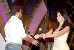 Amir and katrina kaif at Filmfare Awards 2008 Function