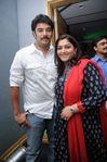 Sundar C and Kushboo at Filmfare Awards 2008 Function