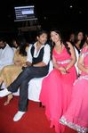 Allu Arjun and Shriya at Filmfare Awards 2008 Function