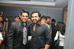 Madhavan  and Karthik Shivakumar at Filmfare Awards 2008 Function