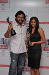 Karthi and Priyamani at Filmfare Awards 2008 Function