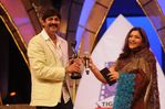 Jagapati Babu and Kushboo at Filmfare Awards 2008 Function