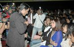 Madhavan and Tabu at Filmfare Awards 2008 Function