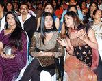 Charmi - Sangeetha and Lakshmi Rai at Filmfare Awards 2008 Function