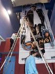 US Rajini fans celebrates  - Kuselan Rajini CutOut in USA