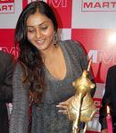 Namitha inaugurates Mega Mart in Chennai