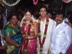 Actress Sangeeta married singer Krish - Sangeeta entered into wedlock with Krish on 1st February 2009 at Thiruvannamalai temple.