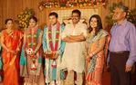 Sneha brother Balajee, Radhika reception function