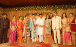 marriage reception of actress Sneha's brother Balajee with Radhika