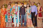 Sneha brother Balajee with Radhika reception photos
