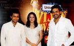Surya with Jyothika and Karthik  at Vijay Awards