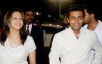 Surya with Jyothika at Vijay Awards