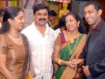 Dileep and Manju at Gopika and Ajilesh Wedding Reception