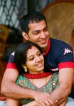 Married Actress Gopika with Husband Ajilesh in Munnar