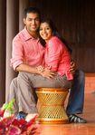 Married Actress Gopika with Husband Ajilesh in Munnar