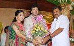 G K Vasan at Jayam Ravi and Aarthy Wedding Reception