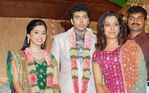 Sandhya at Jayam Ravi and Aarthy Wedding Reception