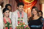 Rambha at Jayam Ravi and Aarthy Wedding Reception