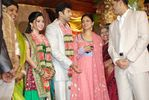 Nadhya at Jayam Ravi and Aarthy Wedding Reception