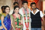Dhanush at Jayam Ravi and Aarthy Wedding Reception