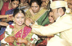Malavika Sumesh Marriage Photo