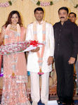 Kaml hassan at Actress Meena Wedding Reception