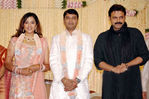 Venkatesh at Actress Meena Wedding Reception