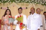Thangabalu at Meena Wedding Reception