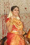 Actress Navya Nair and Santhosh Menon wedding reception photos (13)