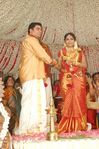 Actress Navya Nair and Santhosh Menon wedding reception photos (15)