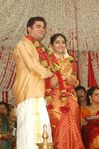 Actress Navya Nair and Santhosh Menon wedding reception photos (16)