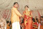 Actress Navya Nair and Santhosh Menon wedding reception photos (6)