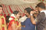 Actress Navya Nair and Santhosh Menon wedding reception photos (8)