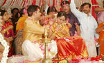 Malyalam actress Navya Nair and Santhosh Menon wedding photos