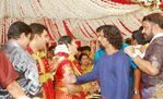 Malyalam actress Navya Nair and Santhosh Menon wedding photos (4)