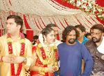 Malyalam actress Navya Nair and Santhosh Menon wedding photos (5)