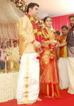 Navya Nair with and Santhosh Menon - marriage photos