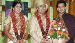 Bharath at Actor Prabhu daughter Aishwarya and Kunall marriage reception