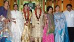 Actor Prabhu daughter Aishwarya and Kunall marriage reception