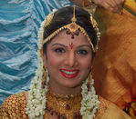 South indian and Bollywood actress Rambha and buisnessman Indra Kumar wedding pictures (4)