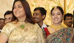 Kushboo at Sibiraj and Revathi Wedding Reception